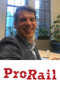 Reinout Wissenburg, Manager Strategic Sustainability, Prorail