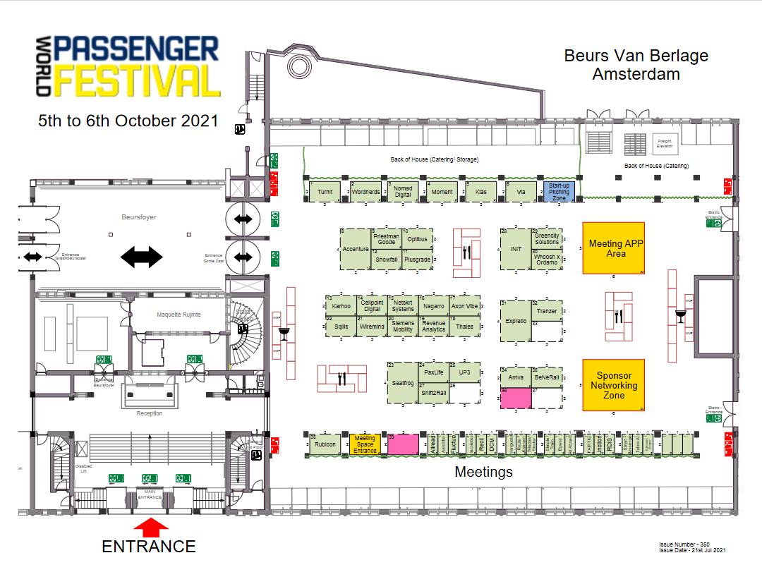 World Passenger Festival Floor Plan
