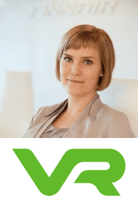 Annika Nordbo, Head of Data and Analytics, VR Group at World Rail Festival