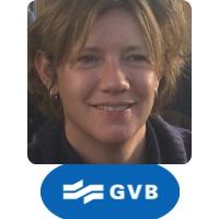 Inge Keur| Sales & Service Manager | GVB  speaking at World Rail Festival