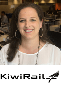 Penelope Rae, CIO, Kiwi Rail at World Rail Festival
