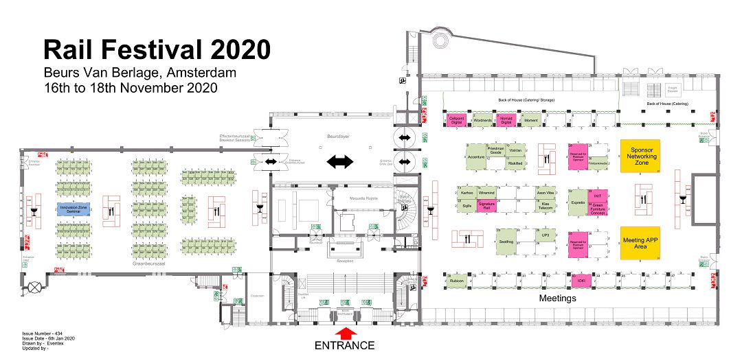 World Rail Festival Floorplan
