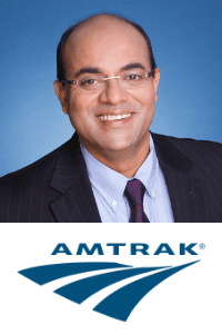 Sovan Shatpathy, CTO, Amtrak at World Rail Festival