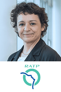 Vania Ribeiro, CDO, RATP Group at World Rail Festival