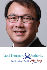 Chong Kheng Chua speaking at the Rail Live conference and exhibition event in Madrid, Spain