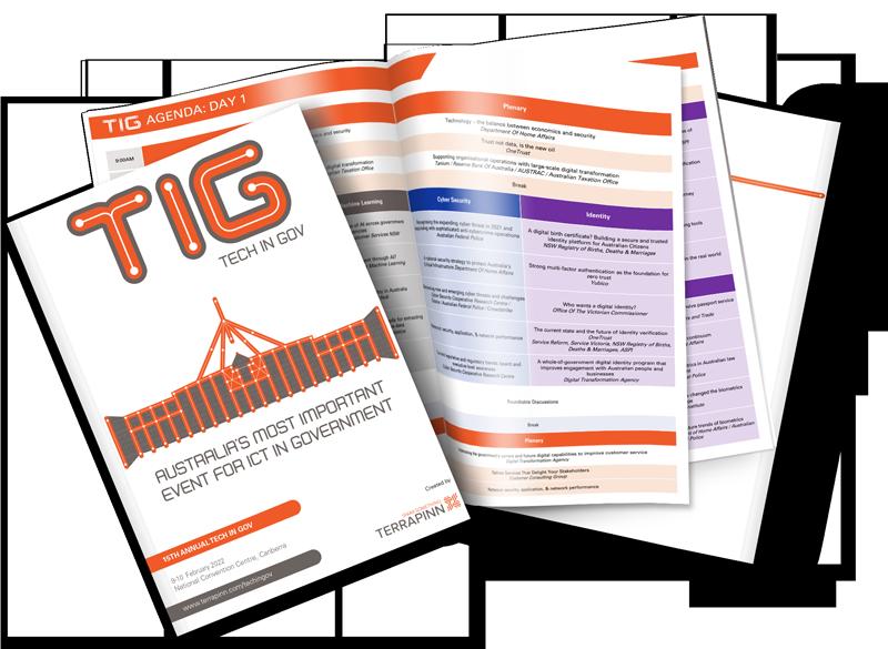 Tech in Gov 2021 download agenda image