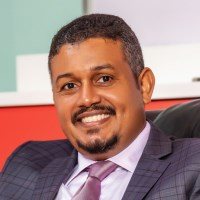 Hussam Baday speaking at Telecoms World Middle East