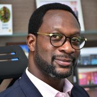 Selorm Adadevoh speaking at Telecoms World Africa