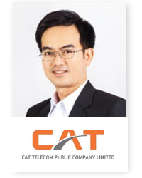 Yuttasart Nitipaichit, at Telecoms World Asia 2019 2019