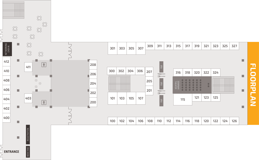 Trading Show Chicago Floorplan