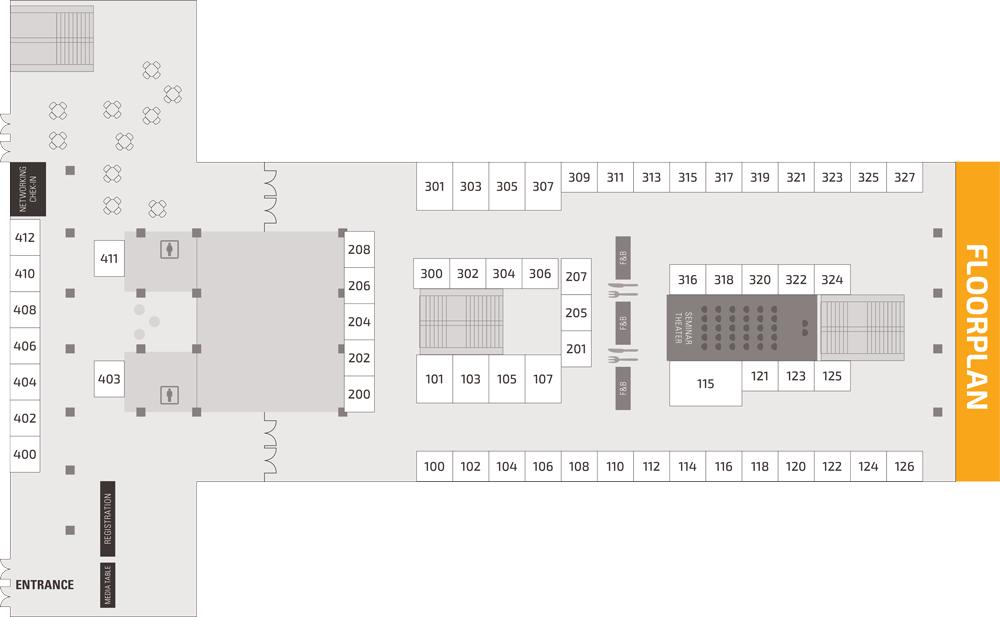 Trading Show Chicago Floorplan