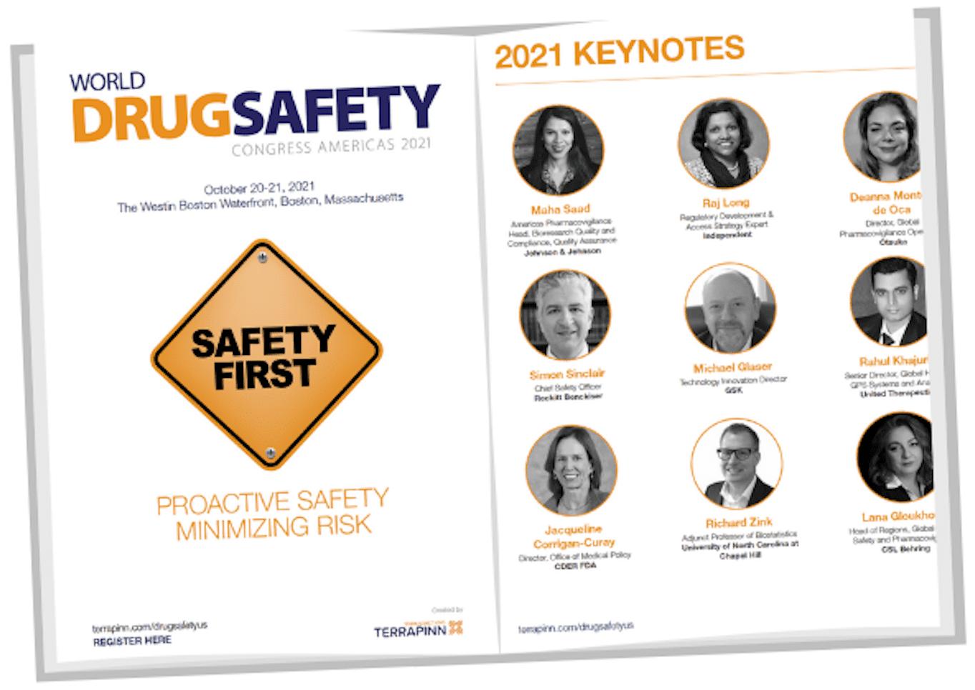 World Drug Safety Congress Americas 2021 brochure