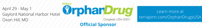 banner for world orphan drug congress usa