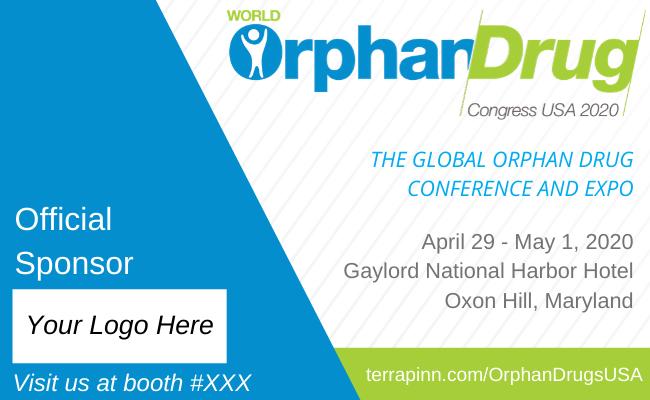 official sponsor at world orphan drug congress usa