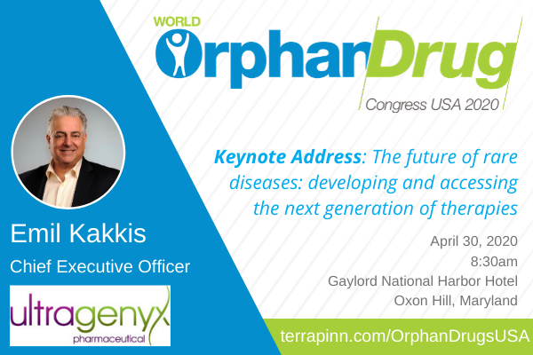 speaker photo at world orphan drug congress