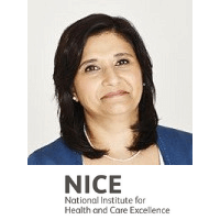 Sheela Upadhyaya, Assoc. Director Highly Specialised Technologies, National Institute For Health and Care Excellence