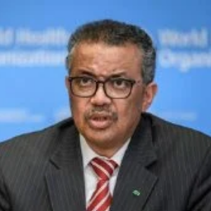 Dr Tedros Adhanom Ghebreyesus speaking at World Vaccine Congress Europe