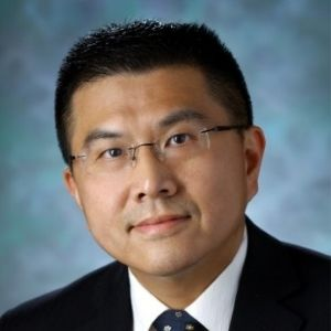 Dr Lei Zheng speaking at World Vaccine Congress Washington