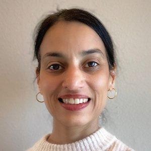 Rekha Lakshmanan speaking at World Vaccine Congress Washington
