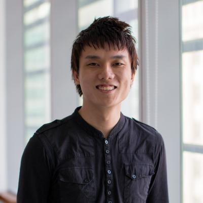 Alvin Lim at the Accounting & Finance Show Hong Kong