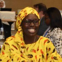 Fatou Dieng Gueye,  speaking at Seamless Africa