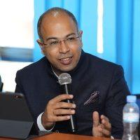 Rohit Dhawan,  speaking at Seamless Africa