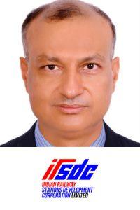 Sanjeev Kumar Lohia speaking at Asia Pacific Rail