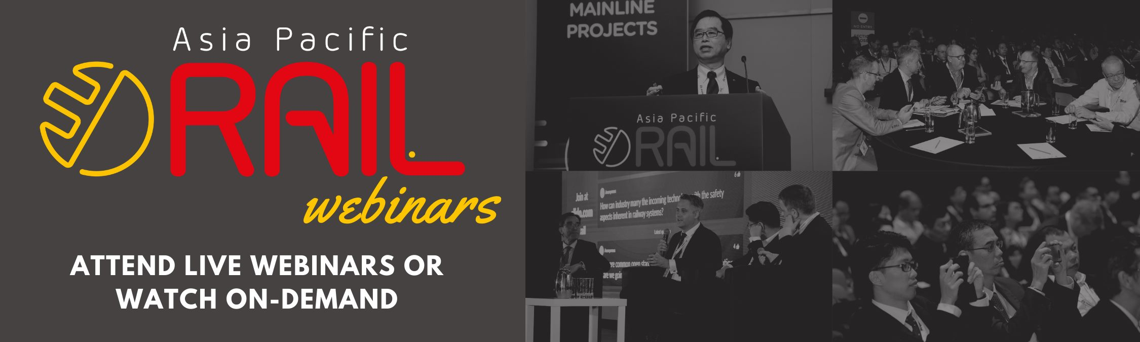 #AsiaPacificRail Webinar Series