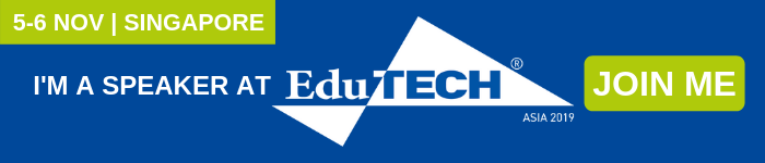 I'm a speaker at EduTECH Asia Email Banner 2
