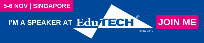 I'm a speaker at EduTECH Asia email banner 3