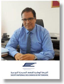 Abdullah Al Meer speaking at Middle East Rail