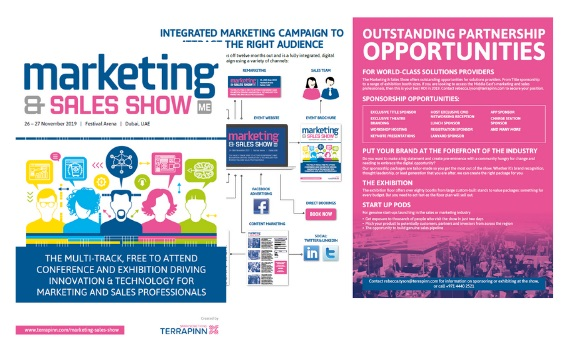 The Marketing & Sales Show 2019 sponsorship brochure