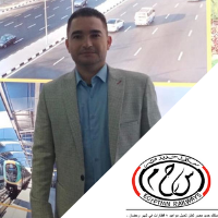 Mahmoud Alredany,  speaking at Middle East Rail
