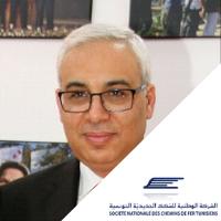 Tayaa Belgacem,  speaking at Middle East Rail