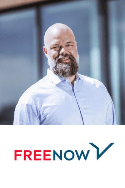 Eckart Diepenhorst, CEO, FREE NOW (formerly mytaxi) @ MOVE 2021