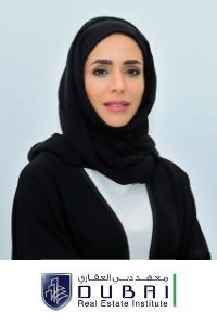 Hend Obaid Al Marri from Dubai Real Estate Insitute, Speaking at PropIT