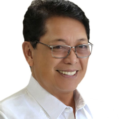 Silvestre Bello III at Roads & Traffic Expo Philippines
