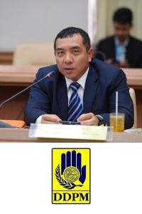 Jumpoj Wannachatrasiri, Director General, Research and International Cooperation Bureau Department of Disaster Prevention and Mitigation (DDPM)