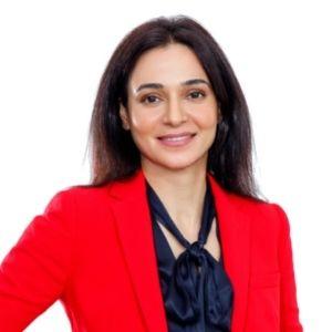 Ekta Kamran speaking at Seamless Middle East