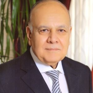 H.E. Dr. Amr Ezzat Salama speaking at Seamless Middle East