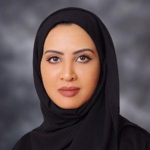 Moza Suwaidan speaking at Seamless Middle East