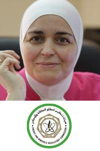 Amani Al-Azzam at Solar and Wind Show MENA