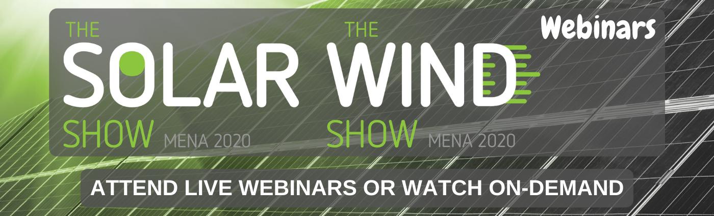 The Solar Show MENA Webinar Series