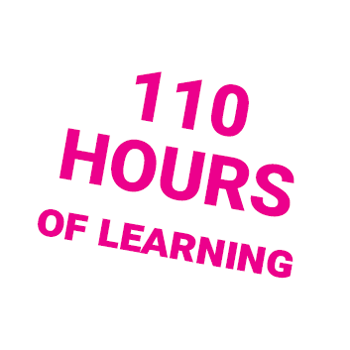 110 hours of learning