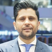 Khurram Siddiqui at Accounting & Finance Show Middle East 2019