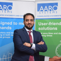 Zeeshan Umer at Accounting & Finance Show Middle East 2019
