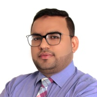 Saqib Ali Shah at Accounting & Finance Show Middle East 2019