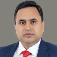 Mohammed Asif Gadit at Accounting & Finance Show Middle East 2019
