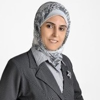 Hadeel Nassar at Accounting & Finance Show Middle East 2019