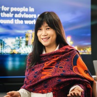 Esther Li at Accounting & Finance Show Asia 2019